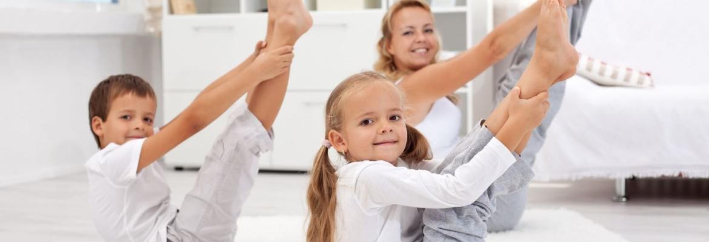 Фитнес для детей и мам